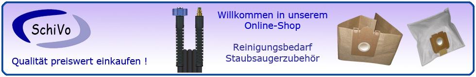 Staubsaugerzubehör und Reinigungsbedarf-Logo