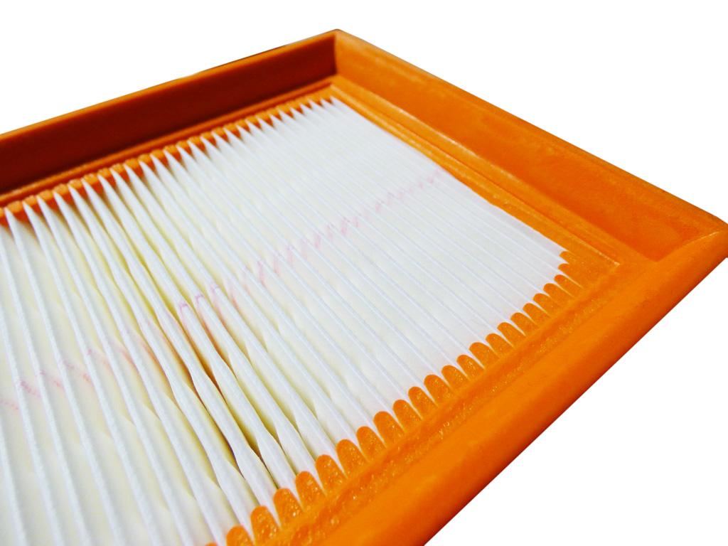 1 Original Flachfaltenfilter 6.904-068  für Kärcher K 2000 TE
