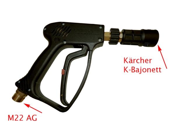 Kärcher Hochdruckreiniger Zubehör Pistole Good für K2 bis 120bar 4.775-830.0